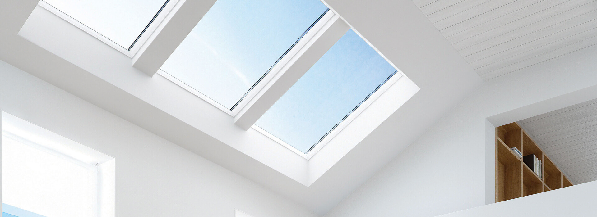 White Finish Keylite Roof Windows