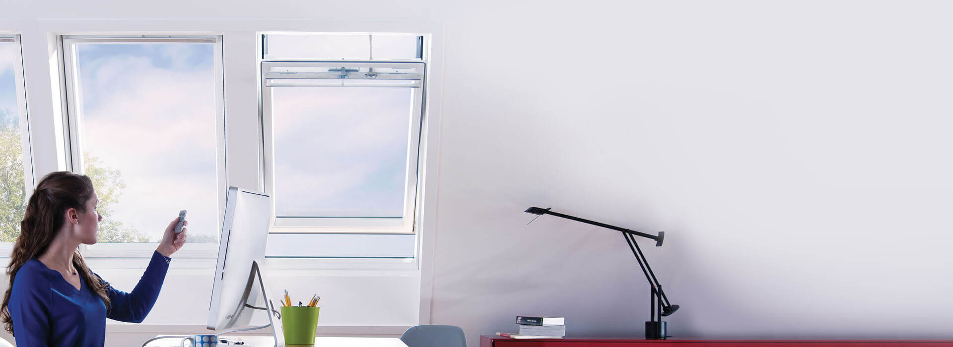 Electric Operation Keylite Roof Windows