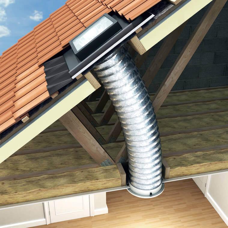 Sun Lite Tube System - Keylite Roof Windows