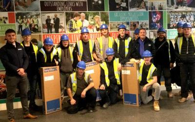 Keylite Proud Sponsors of Leeds College of Building