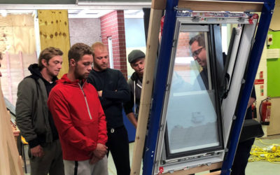 Keylite Roof Windows Engages with Wales National Roofing Training Group